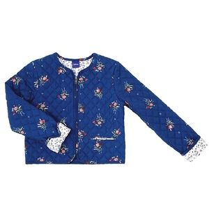 Disney Beauty and The Beast Quilted Floral Jacket
